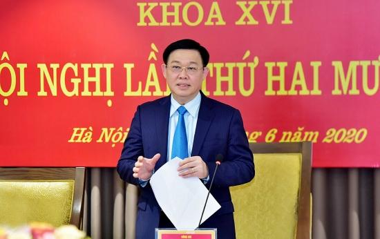 Phát biểu kết luận của Bí thư Thành ủy Vương Đình Huệ tại Hội nghị lần thứ 24 Ban Chấp hành Đảng bộ thành phố Hà Nội