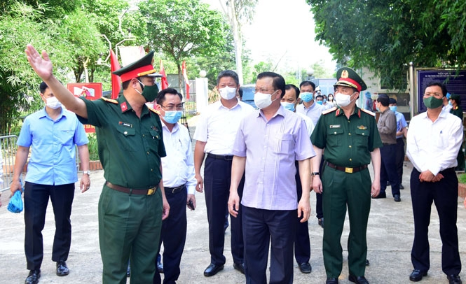Bí thư Thành ủy Hà Nội: Tuyệt đối không chủ quan, tự mãn, bảo vệ bằng được thành quả phòng, chống Covid-19