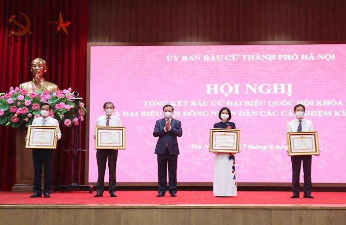 Hà Nội: Tổ chức cuộc bầu cử thành công tốt đẹp về mọi mặt