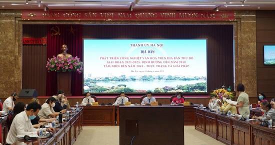 Hà Nội: Bàn giải pháp phát triển công nghiệp văn hóa tại Thủ đô