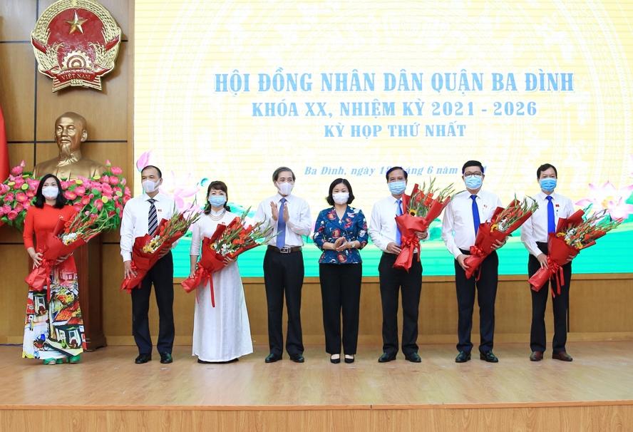 Đồng chí Nguyễn Công Thành được bầu làm Chủ tịch Hội đồng nhân dân quận Ba Đình