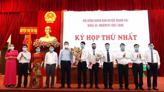 Ông Bùi Văn Sáng được bầu làm Chủ tịch Ủy ban nhân dân huyện Thanh Oai