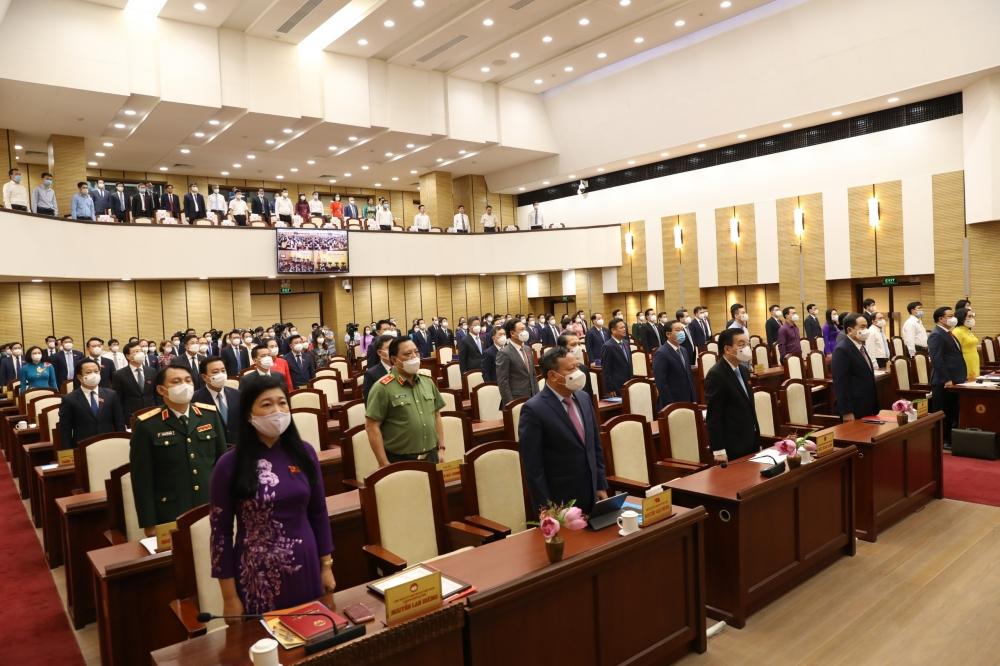 Khai mạc kỳ họp thứ nhất Hội đồng nhân dân thành phố Hà Nội khóa XVI
