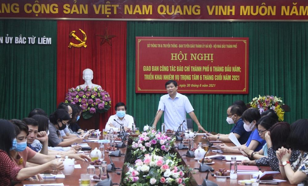 Hà Nội: Báo chí góp phần tạo đồng thuận, tin tưởng trong xã hội