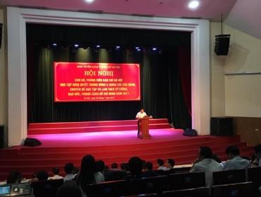 Các cơ quan báo chí Hà Nội quán triệt Nghị quyết Trung ương 5, khóa XII