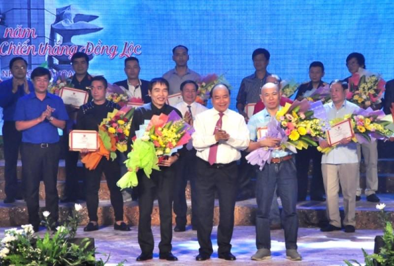 Trao giải cho 10 tác phẩm sáng tác về Chiến thắng Đồng Lộc