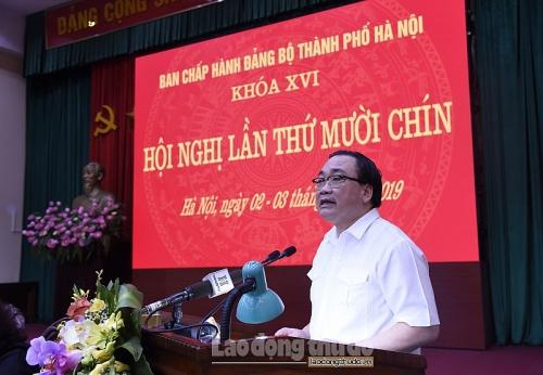 Bảo đảm tổ chức thành công Đại hội Đảng các cấp và Đại hội XVII Đảng bộ thành phố Hà Nội
