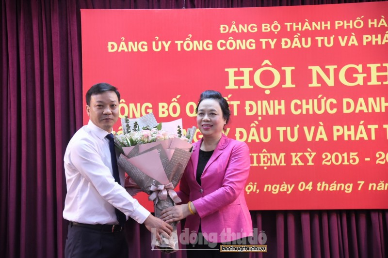 Đồng chí Trương Hải Long làm Bí thư Đảng ủy Handico