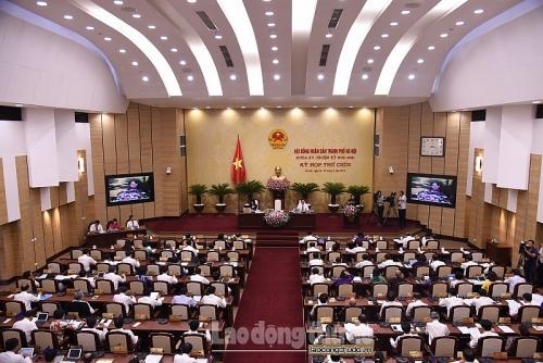 Khai mạc kỳ họp thứ 9 HĐND thành phố Hà Nội
