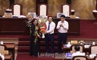 Hà Nội thông qua Nghị quyết về nhân sự