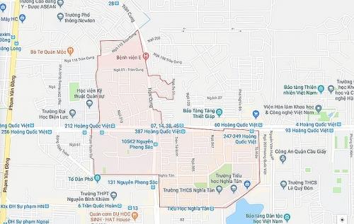 Hà Nội điều chỉnh địa giới hành chính 3 quận nội thành