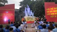 Tuổi trẻ Thủ đô thắp nến tri ân các anh hùng liệt sỹ