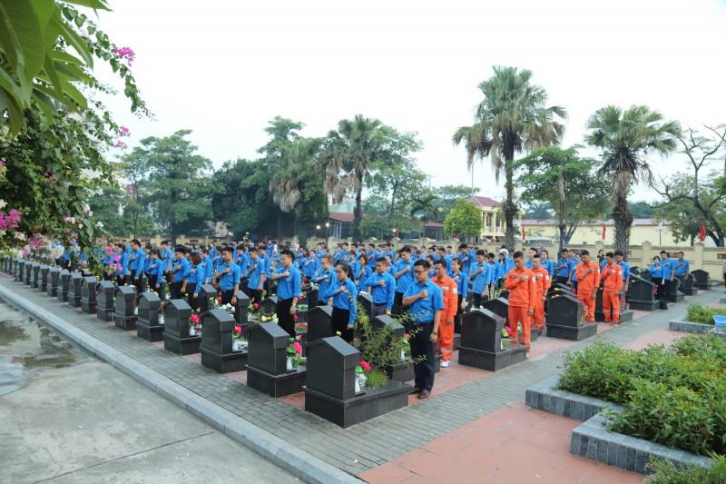 Tuổi trẻ Thủ đô tổ chức nhiều hoạt động tri ân các anh hùng liệt sỹ