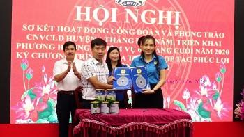 Huyện Thanh Oai vượt chỉ tiêu thành lập công đoàn cơ sở