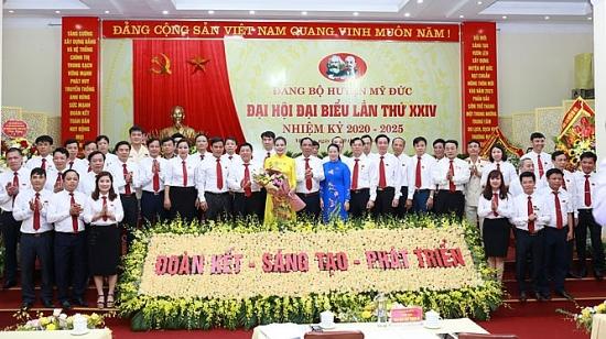 Hà Nội: Bốn Bí thư Đảng bộ cấp trên cơ sở được bầu trong một ngày