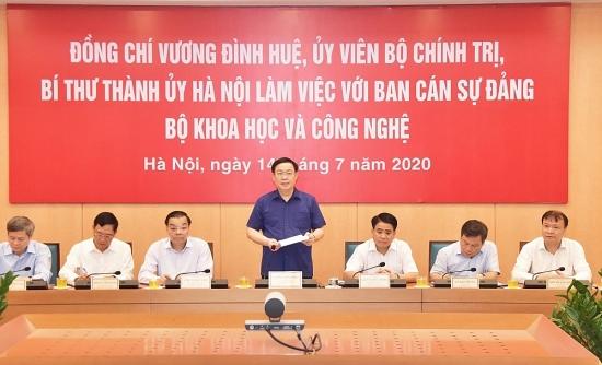 Xây dựng Hà Nội là trung tâm đổi mới sáng tạo của khu vực Đông Nam Á