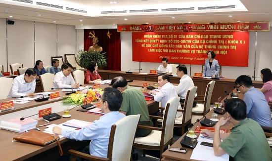 Chủ tịch Ủy ban nhân dân thành phố Hà Nội: Luôn lấy người dân, doanh nghiệp làm trung tâm phục vụ