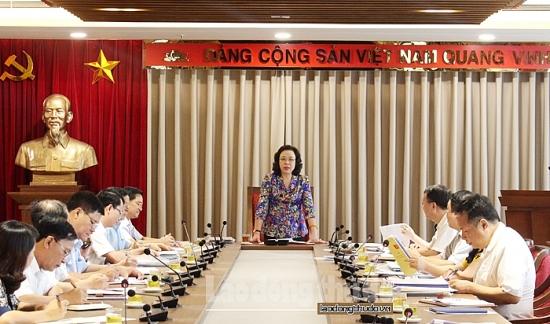 Lãnh đạo Thành ủy Hà Nội kiểm tra công tác chuẩn bị Đại hội Đảng bộ huyện Ba Vì