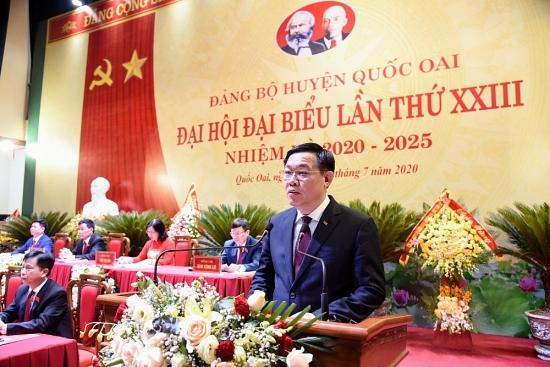 Phát triển huyện Quốc Oai gắn với đô thị vệ tinh Hòa Lạc