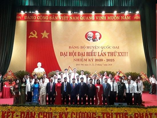 Ông Nguyễn Văn Thọ tiếp tục làm Bí thư huyện ủy Quốc Oai