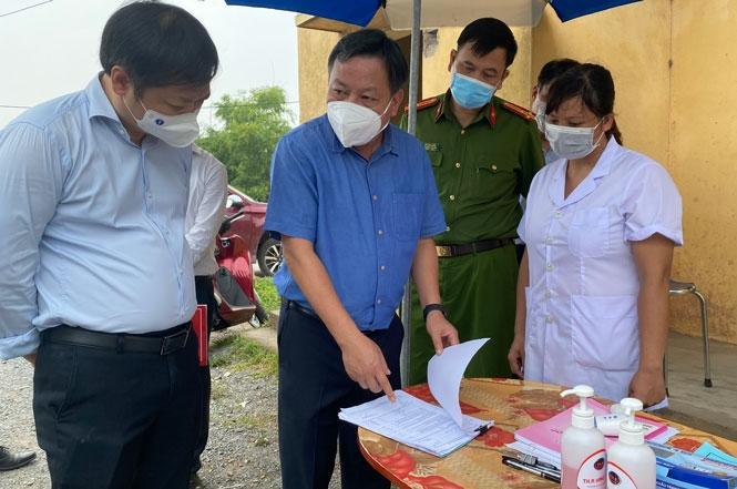 Phó Bí thư Thành ủy Hà Nội: Phú Xuyên triển khai ngay phương án mở rộng khu cách ly