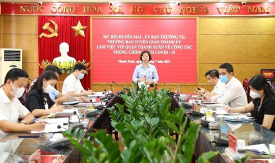 Quận Thanh Xuân cần có kịch bản cách ly y tế theo từng khu vực, thậm chí cả một phường