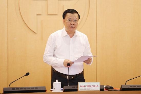Bí thư Thành ủy Hà Nội Đinh Tiến Dũng kêu gọi người dân ở tại nhà
