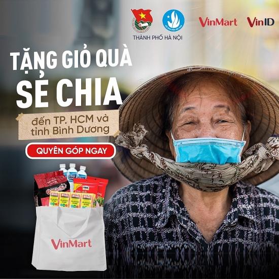 """""""5.000 gói quà sẻ chia"""" tới tâm dịch thành phố Hồ Chí Minh và Bình Dương"""