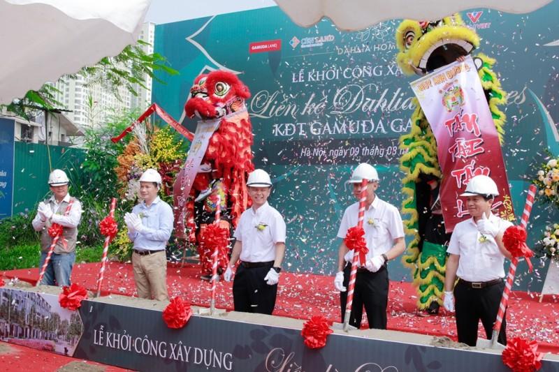 Gamuda Land Việt Nam: Khởi công xây dựng dự án liền kề Dahlia Homes