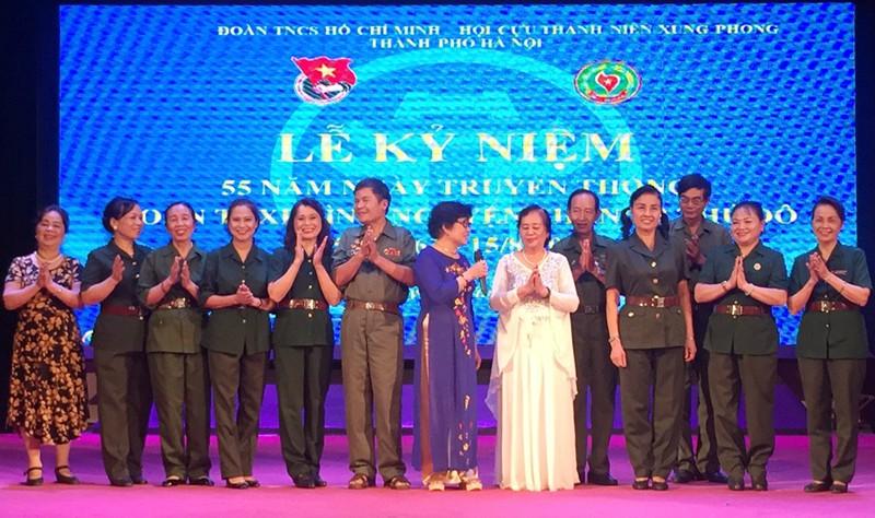 Kỷ niệm 55 năm Ngày truyền thống Thanh niên xung phong Thủ đô