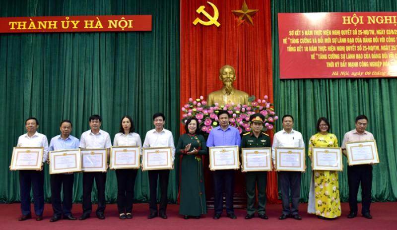 Hà Nội: Công tác dân vận có bước chuyển mạnh mẽ