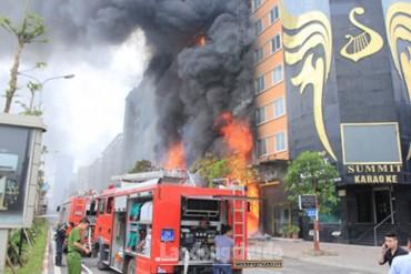 121 quán karaoke ở huyện Đông Anh không đảm bảo về phòng cháy chữa cháy