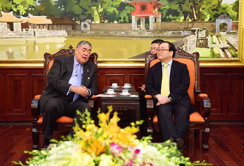 Tăng cường hợp tác giữa hai nước Việt Nam và Dominica