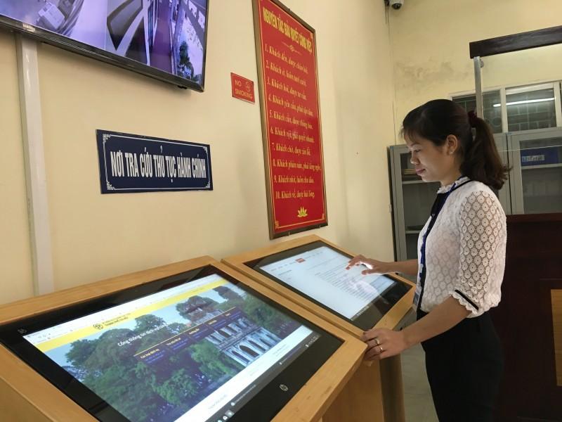 Hà Nội: Bảo đảm cơ sở, vật chất Bộ phận một cửa