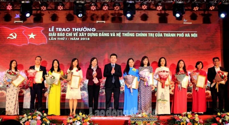Hà Nội nhận các tác phẩm tham gia hai giải báo chí đến hết ngày 25/8