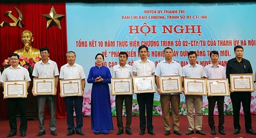 Xây dựng huyện Thanh Trì gắn với gìn giữ các giá trị văn hóa truyền thống