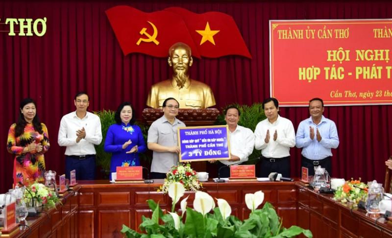 Hà Nội – Cần Thơ: Tăng cường hợp tác để khai thác tối đa tiềm năng