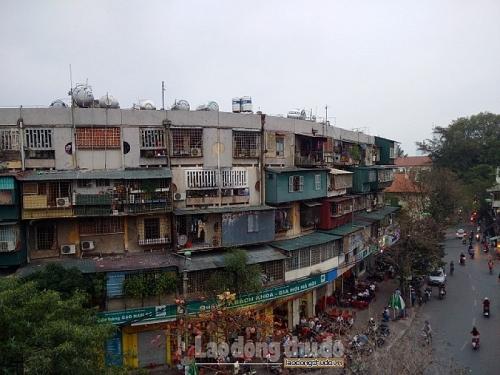 Hà Nội đã có ý tưởng quy hoạch 15 chung cư cũ