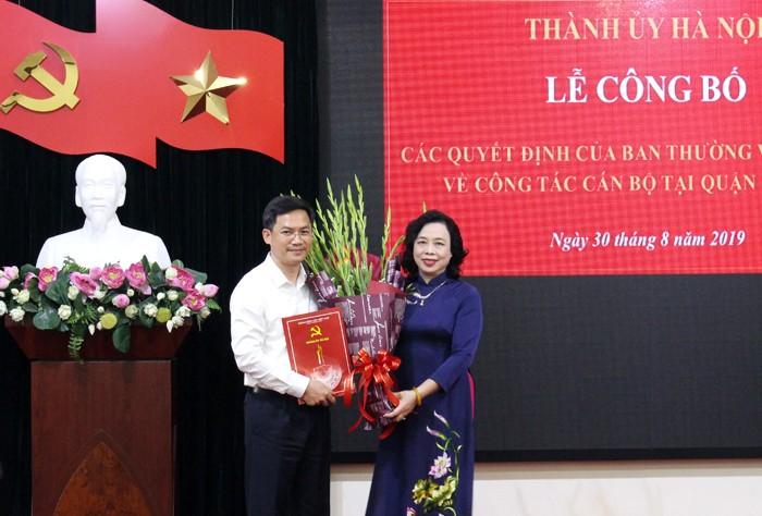 Hà Nội: Điều động Giám đốc Sở Tài chính về làm Bí thư Quận ủy Đống Đa