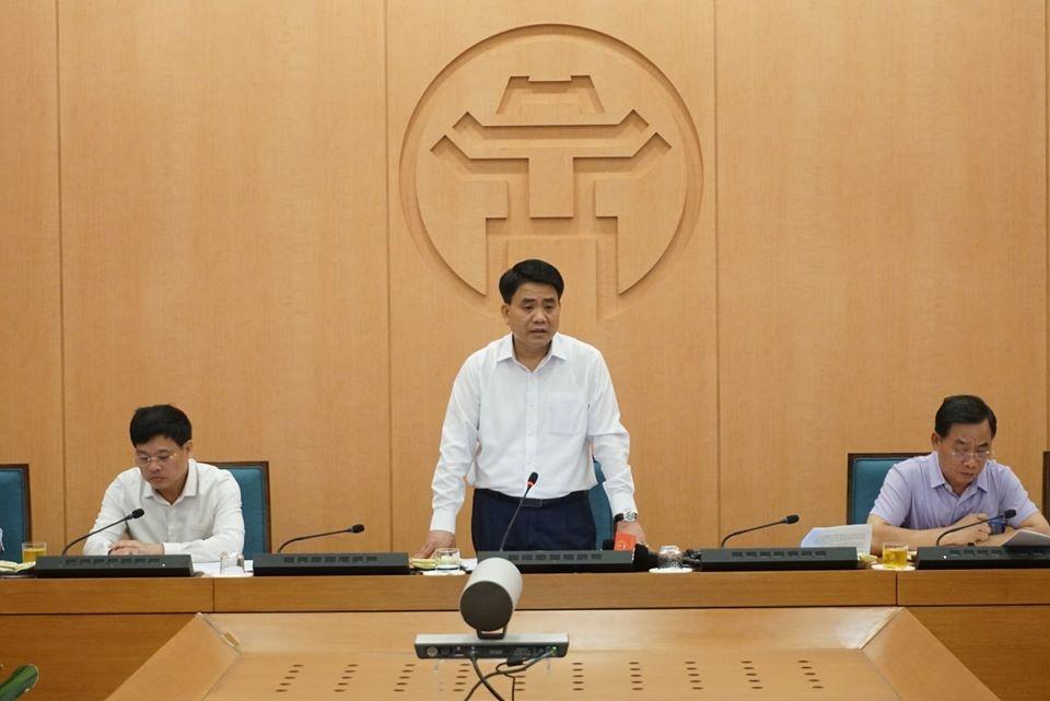 Chủ tịch UBND thành phố Hà Nội kêu gọi người dân tự giác tham gia phòng chống Covid-19