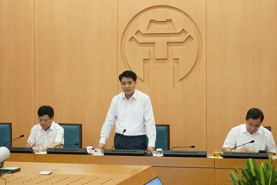 Chủ tịch Hà Nội: Nâng mức cảnh báo, khẩn trương ngăn chặn dịch Covid-19