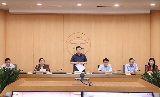 Bí thư Thành ủy Vương Đình Huệ: Kích hoạt lại toàn bộ hệ thống phòng, chống dịch Covid-19