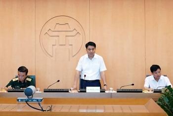 Chủ tịch UBND thành phố Hà Nội: Coi những nơi có người mắc Covid-19 là ổ dịch nhỏ