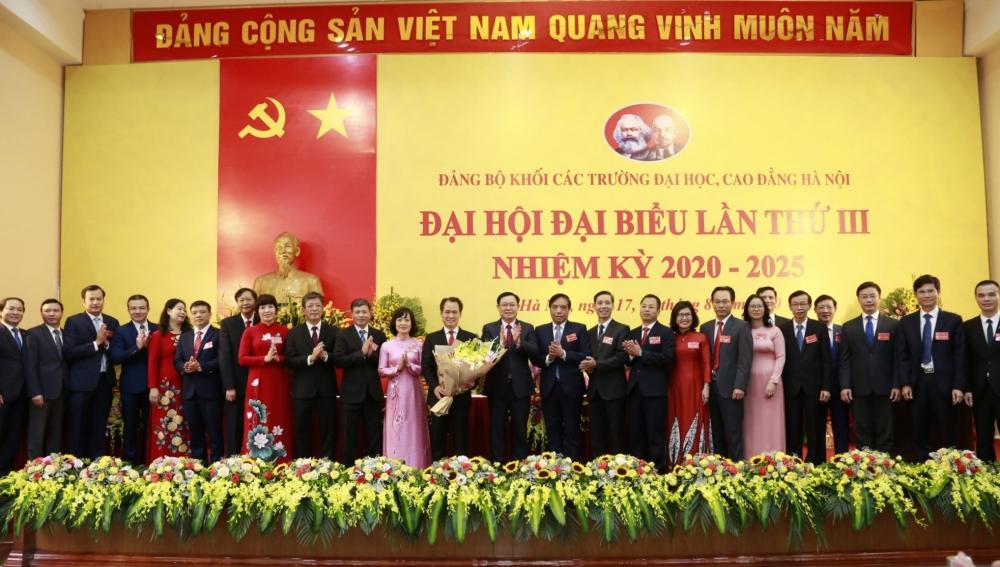 Đại hội đại biểu lần thứ III Đảng bộ Khối các trường đại học, cao đẳng Hà Nội