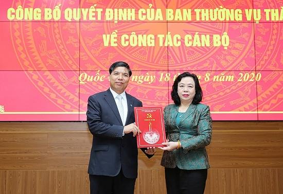 Công bố quyết định điều động cán bộ tại huyện Quốc Oai