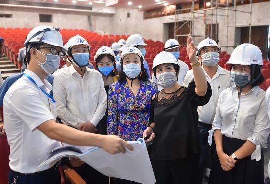 Phó Bí thư Thường trực Thành ủy Hà Nội: Dự án cải tạo Cung Văn hóa Lao động Hữu nghị Việt - Xô đảm bảo tiến độ, chất lượng
