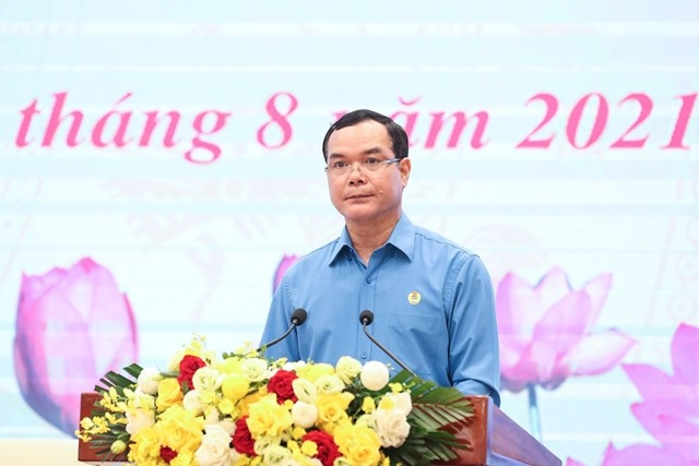 Quyết tâm xây dựng giai cấp công nhân Việt Nam hiện đại, lớn mạnh