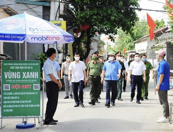 Bí thư Hà Nội Đinh Tiến Dũng: Thủ đô sẽ đẩy lùi dịch bệnh, sớm bắt đầu trạng thái bình thường mới