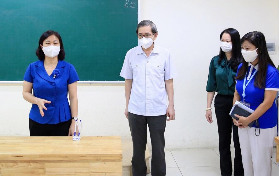 Ngành Giáo dục và Đào tạo quận Ba Đình triển khai nhiệm vụ năm học mới 2021-2022