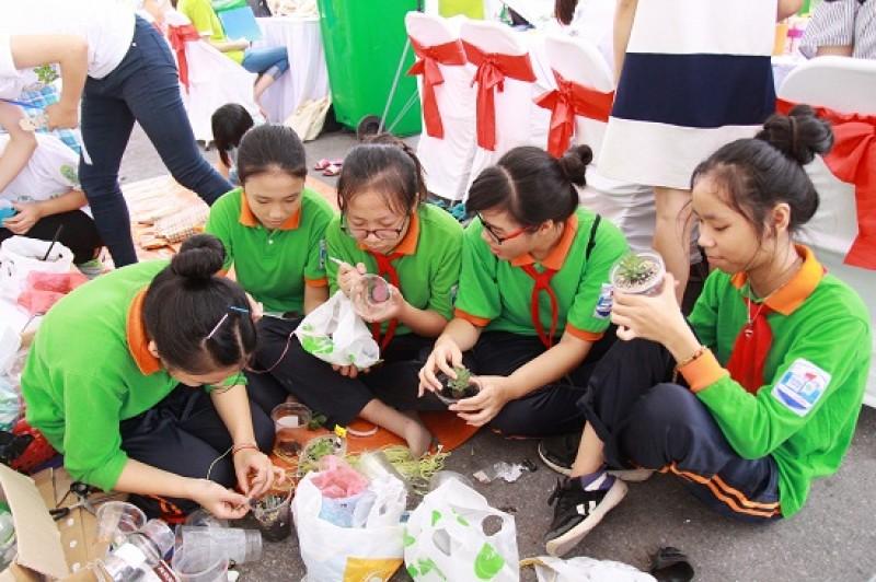 Chung tay xây dựng Thủ đô xanh, sạch và phát triển bền vững
